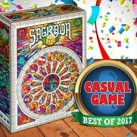 Sagrada Best Casual Game of 2017