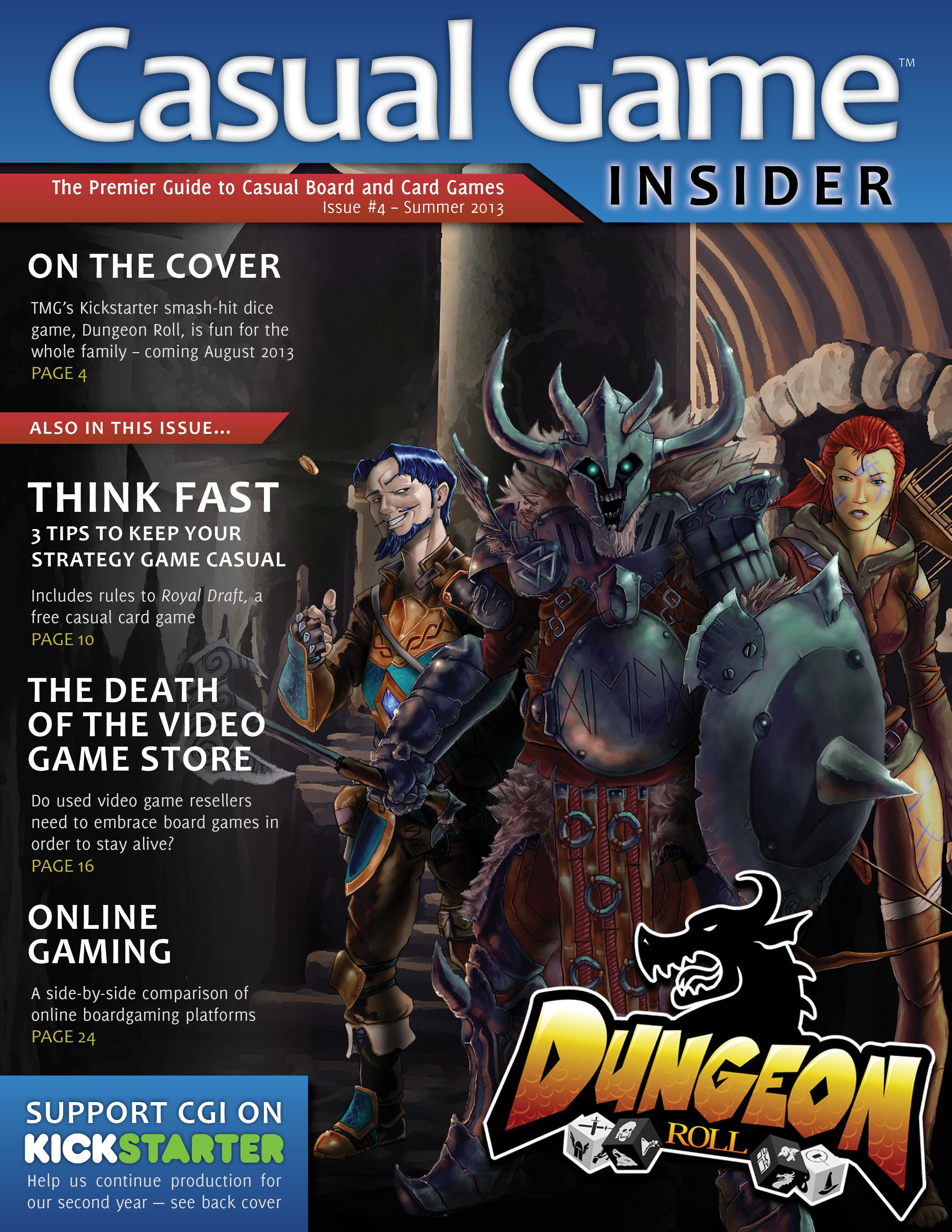 Cgi 4 Dungeon Roll Casual Game Design And Online Gaming Casual Game Revolution